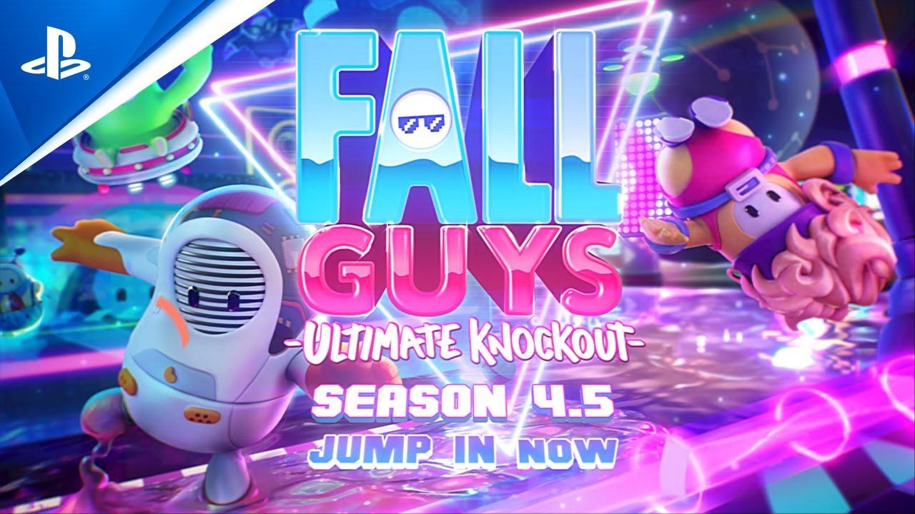 Новое обновление Fall Guys: Ultimate Knockout добавило кроссплей и пользовательские лобби
