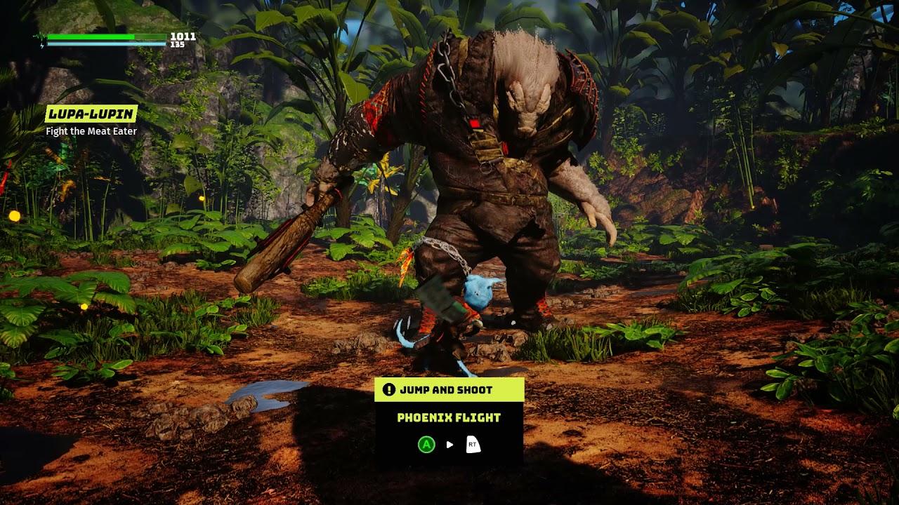 Biomutant поставила рекорд по пиковому количеству игроков в Steam среди игр издателя THQ Nordic