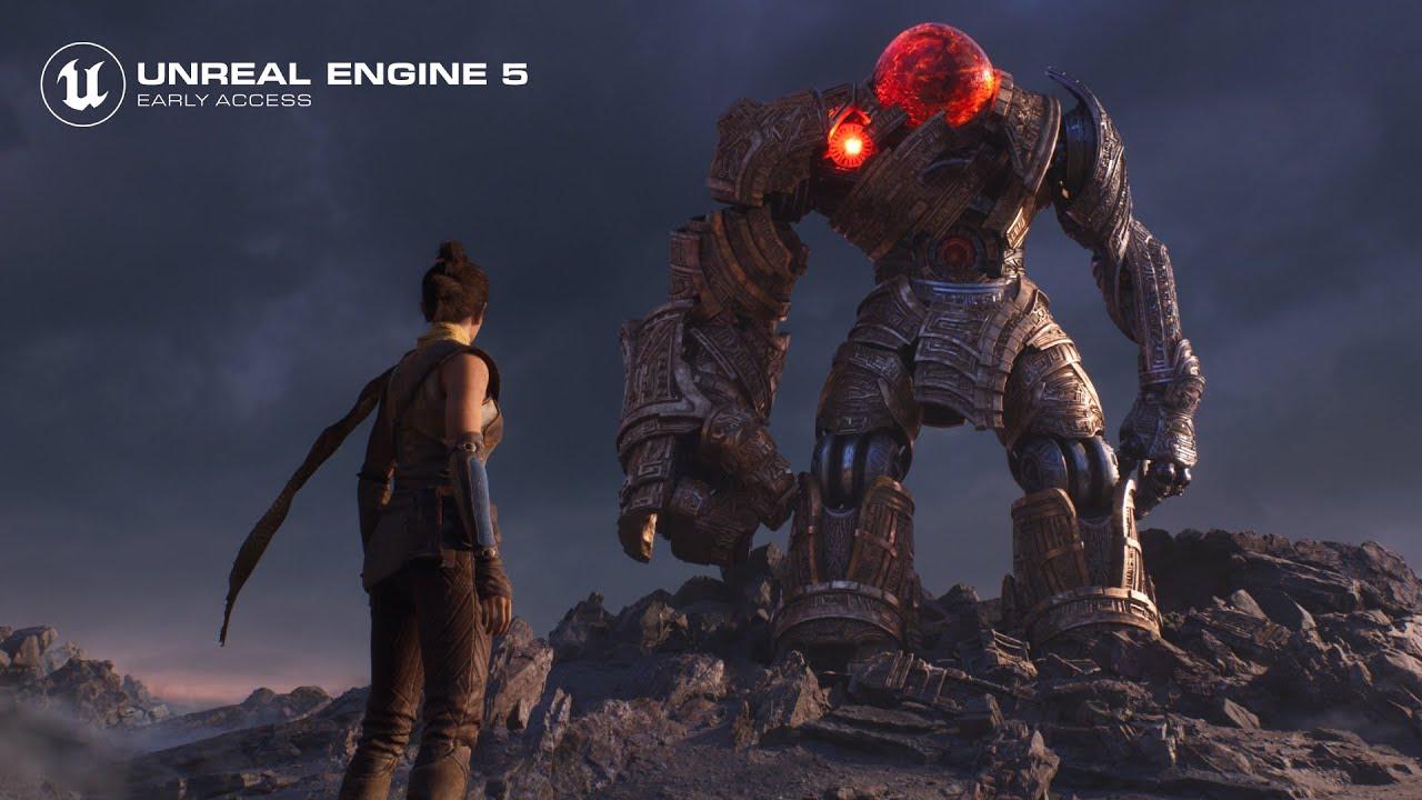 Epic Games опубликовала в ранний доступ движок Unreal Engine 5