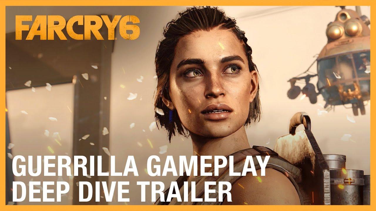 Сюжетный и геймпплейный трейлер Far Cry 6 на русском языке