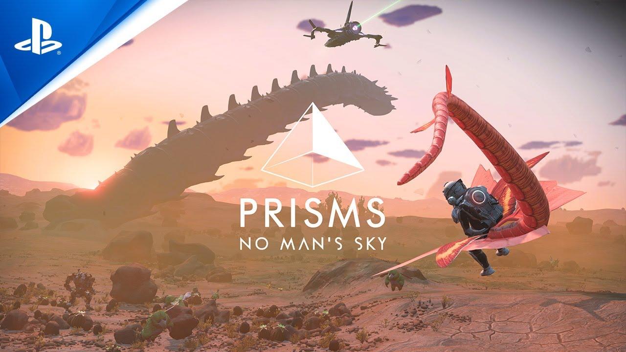 Трейлер свежего обновления No Man's Sky, которое в основном посвящено графическому улучшению игры
