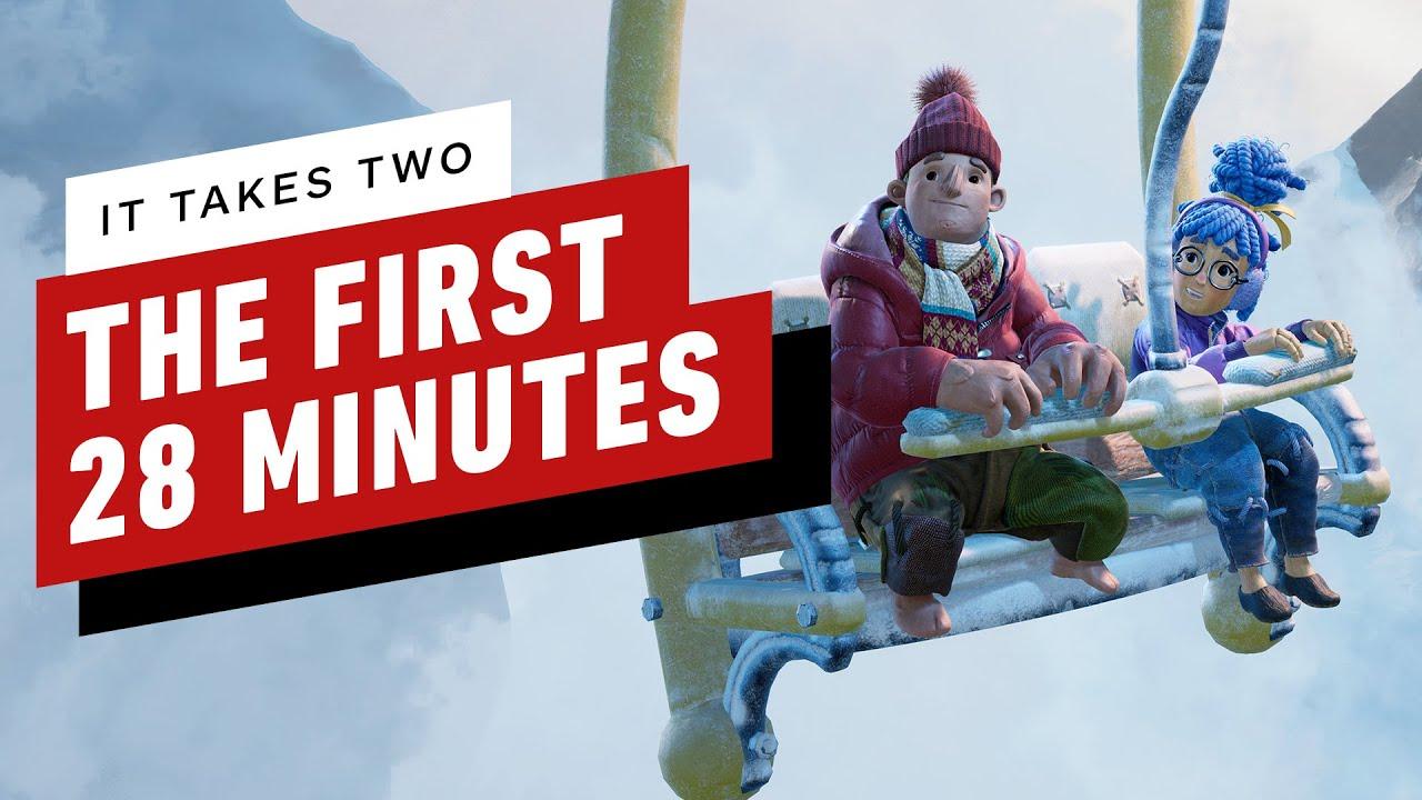 Первые 28 минут прохождения It Takes Two