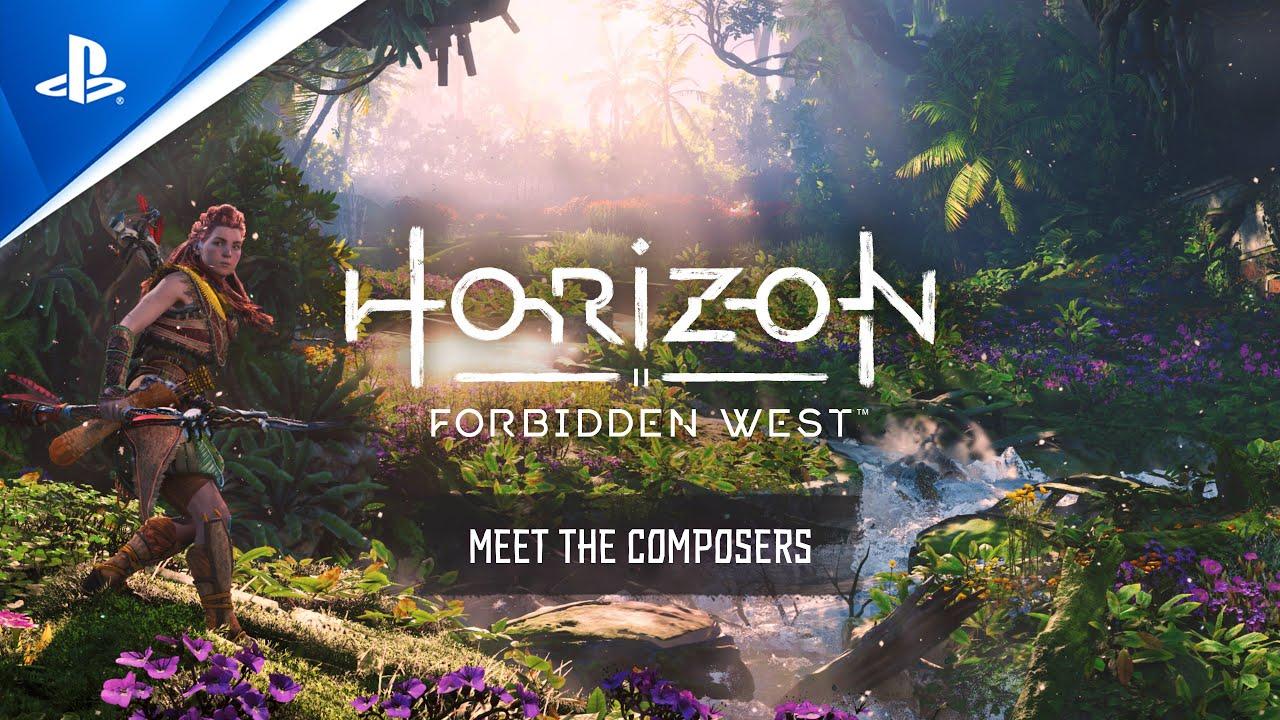 Видео, посвященное композиторам Horizon Forbidden West.