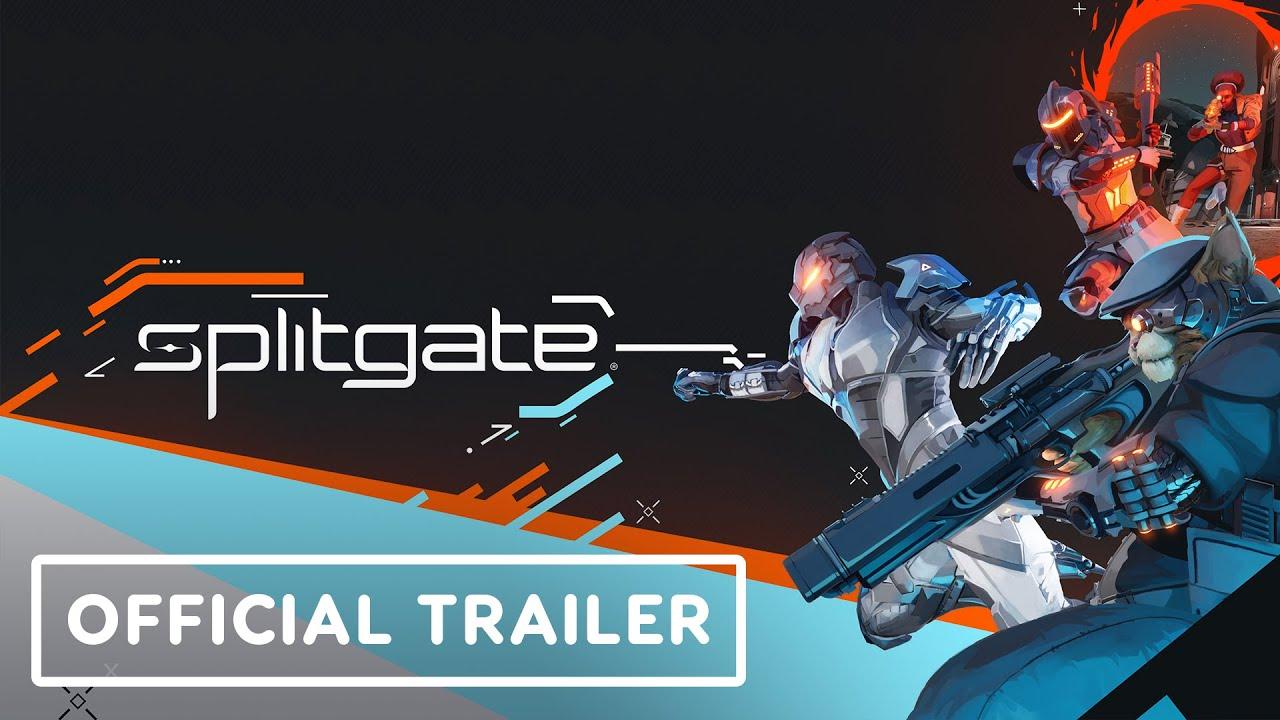 Геймлейный трейлер мультиплеерного шутера Splitgate