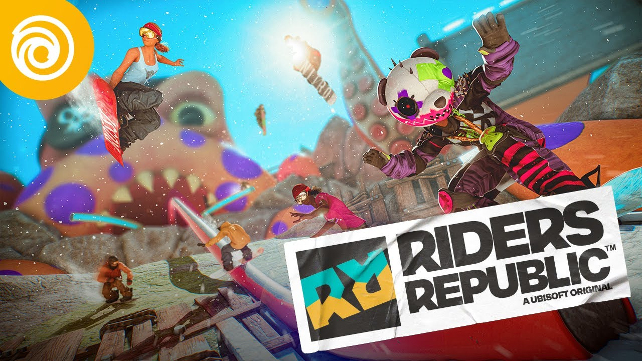 Геймплейный трейлер Riders Republic