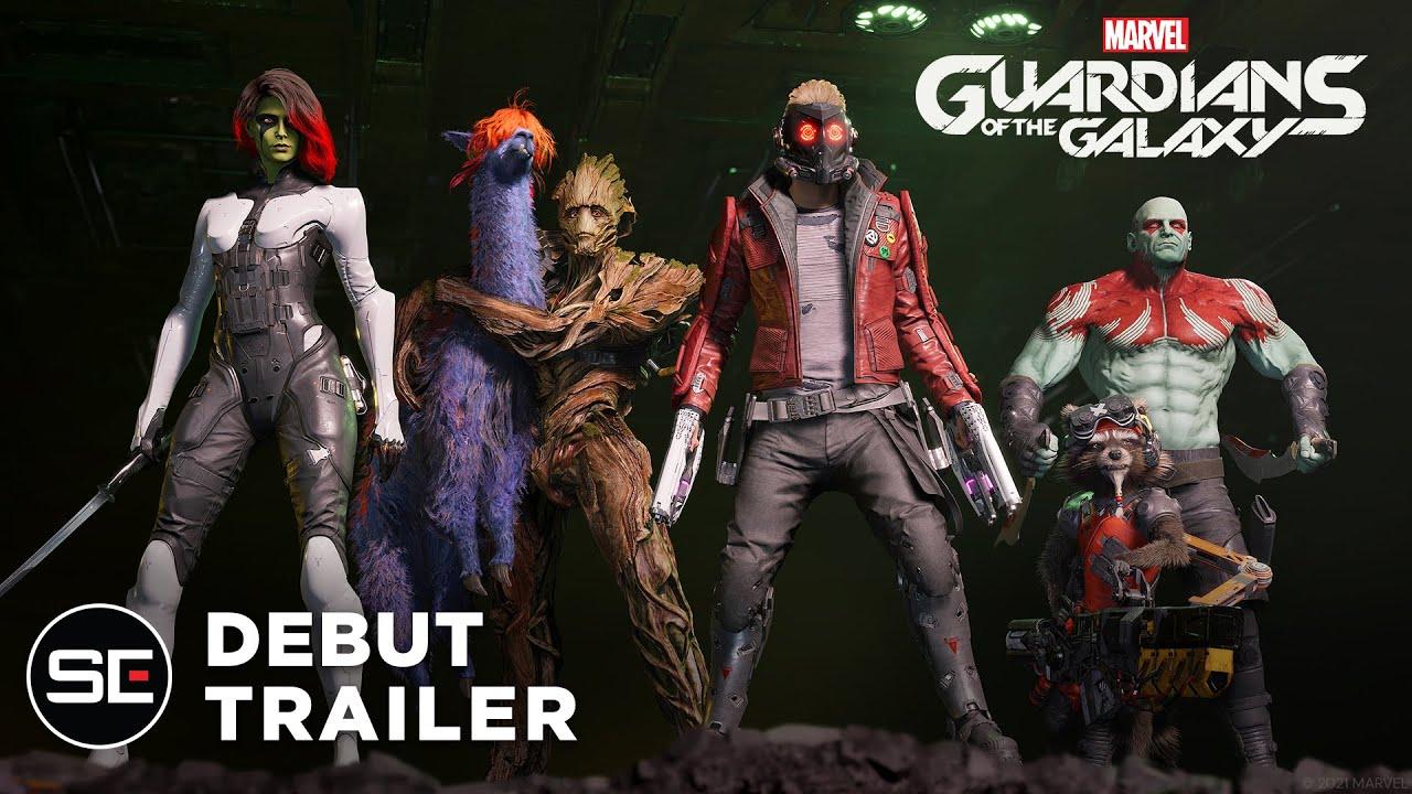 Первый геймплей Marvel's Guardians of the Galaxy