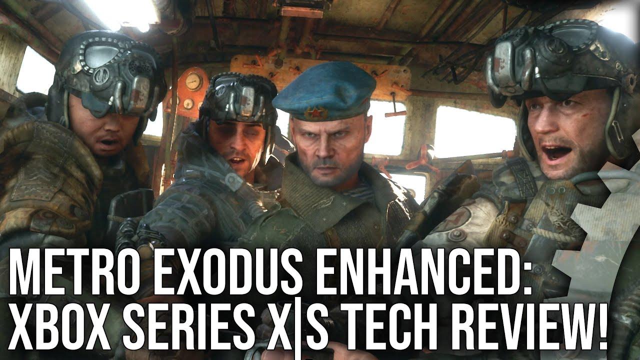Digital Foundry опубликовали разбор версии Metro Exodus для консолей на примере Xbox Series X (на PS5 игра будет работать также)