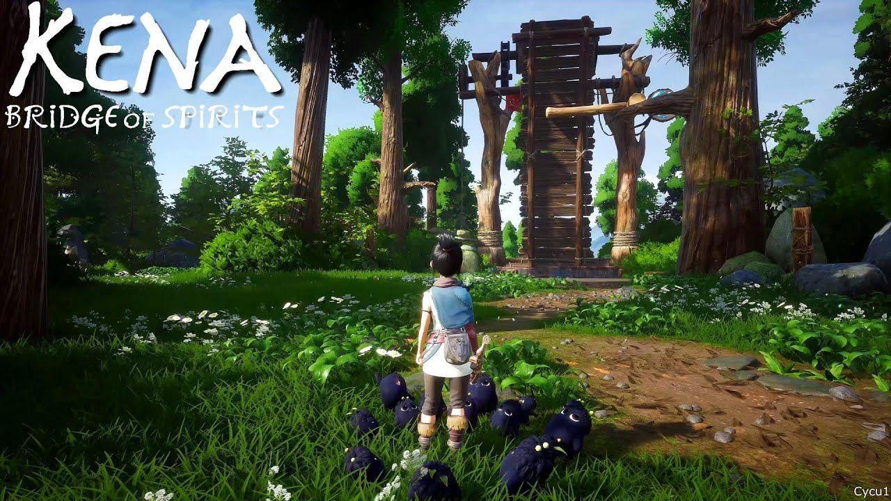 Свежий геймплей Kena: Bridge of Spirits с PC