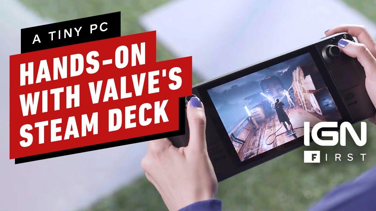 Valve официально анонсировала портативную консоль Steam Deck