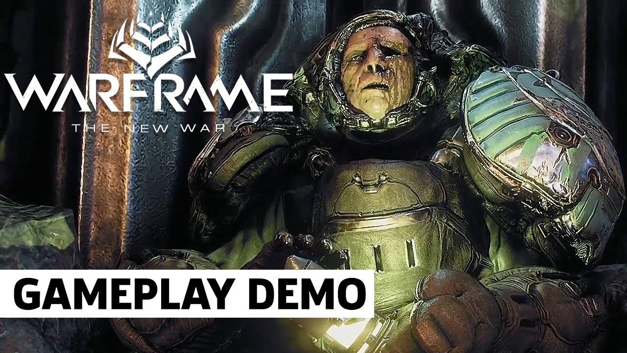 Геймплей крупного обновления для Warframe — The New War