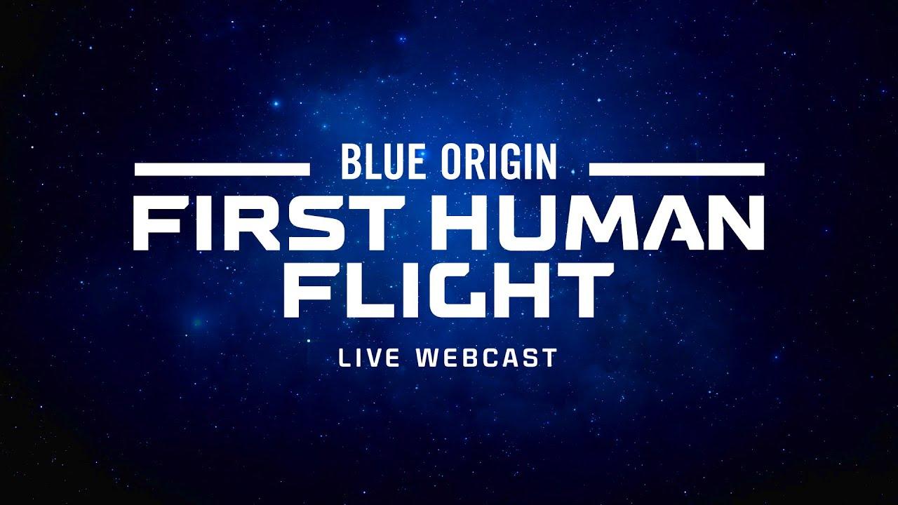 Примерно через 20 минут состоится первый запуск космического корабля New Shepard с людьми на борту