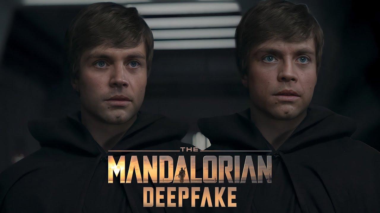 Студия Industrial Light and Magic, занимающаяся визуальными эффектами, наняла автора DeepFake-видео с Люком Скайуокером в финале сериала «Мандалорец»