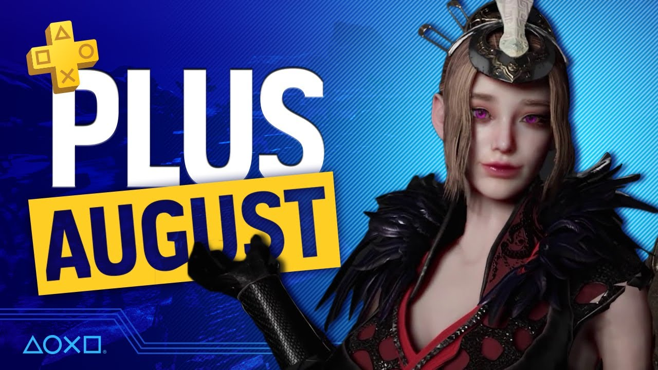 Ролик с подборкой PS Plus на август