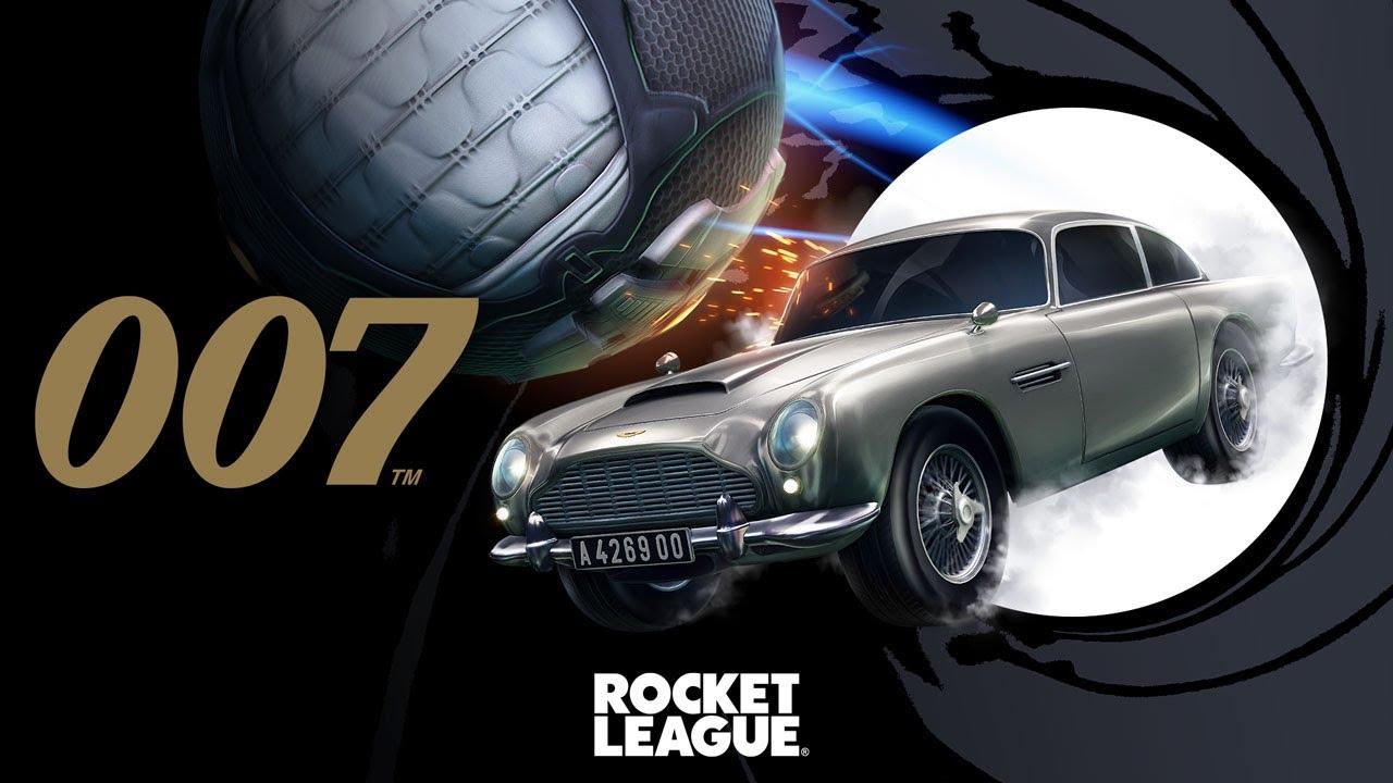 Сегодня в Rocket League появится Aston Martin Джеймса Бонда