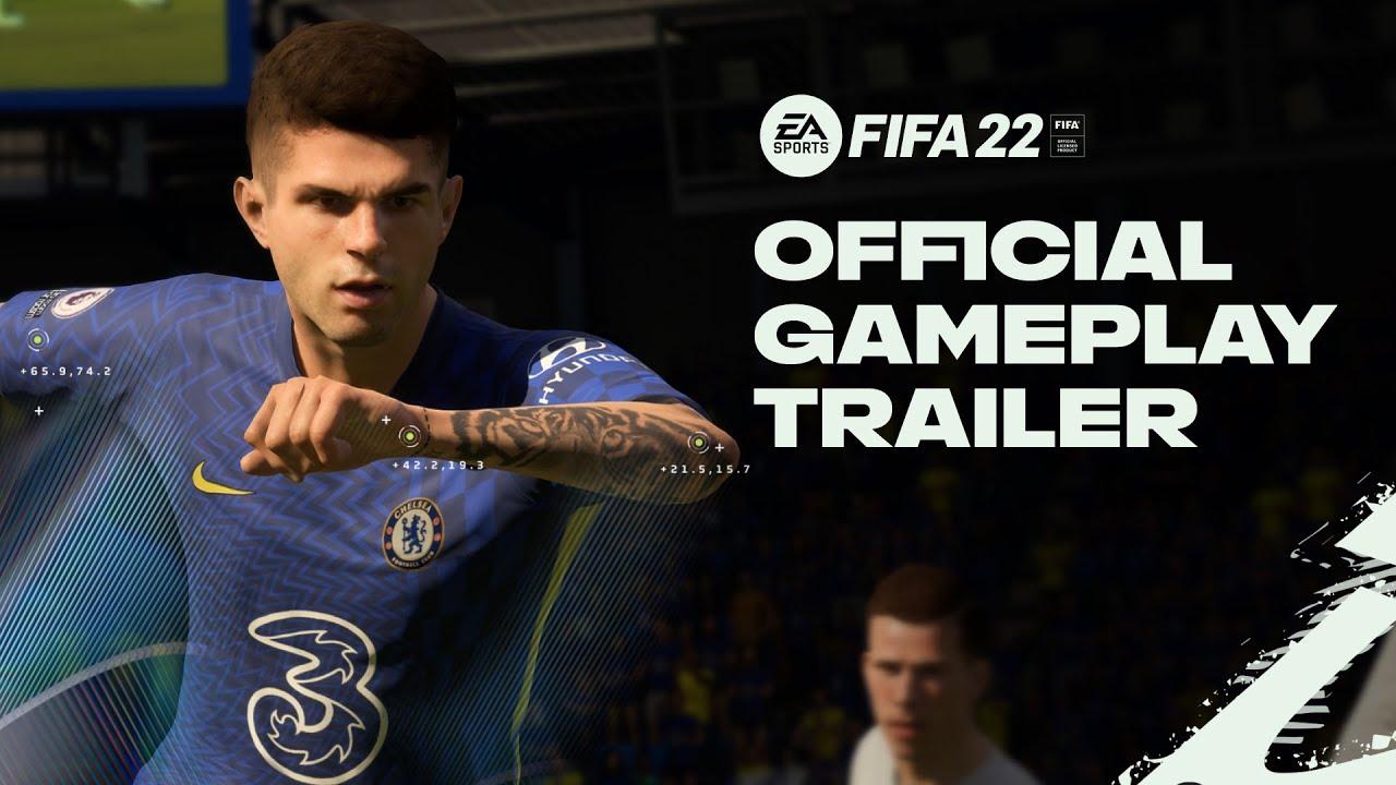 Новый трейлер самой продаваемой игры года — FIFA 22
