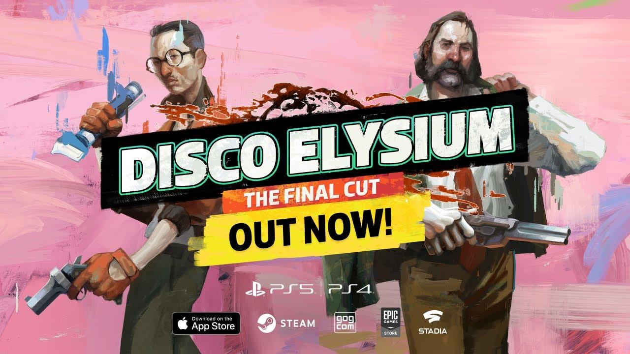 Релизный трейлер прекрасной DISCO ELYSIUM — The Final Cut
