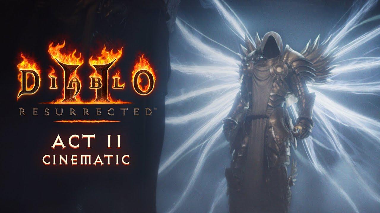 Blizzard представила кинематографические трейлеры первых двух актов Diablo II: Resurrected в преддверии старта закрытого бета-тестирования игры