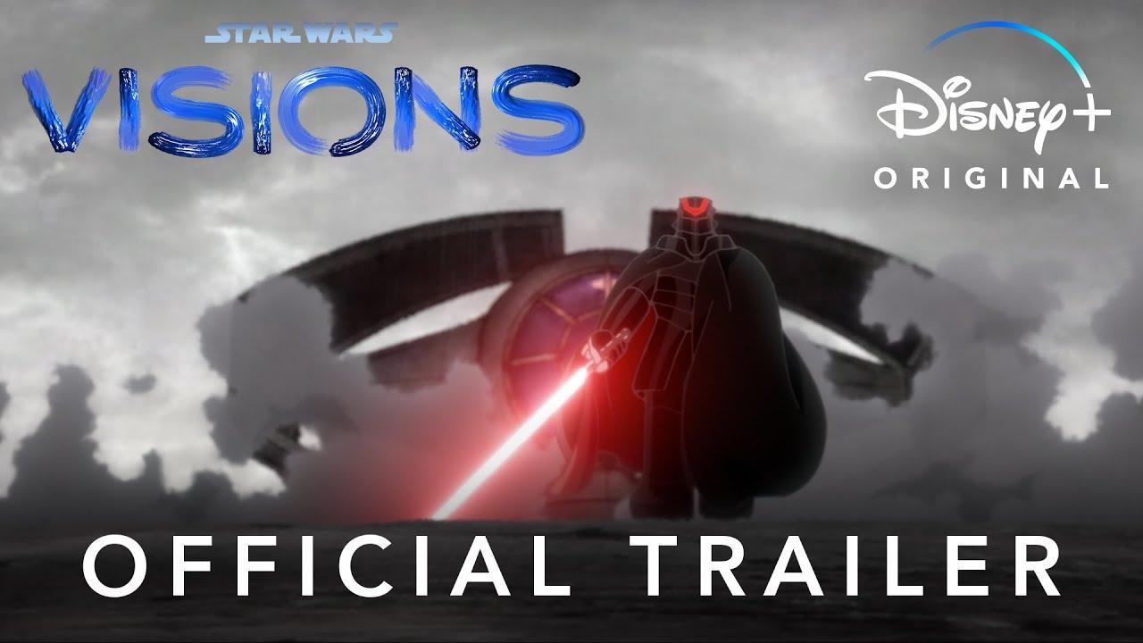 Трейлер аниме-антологии по Звездный войнам — Star Wars: Visions