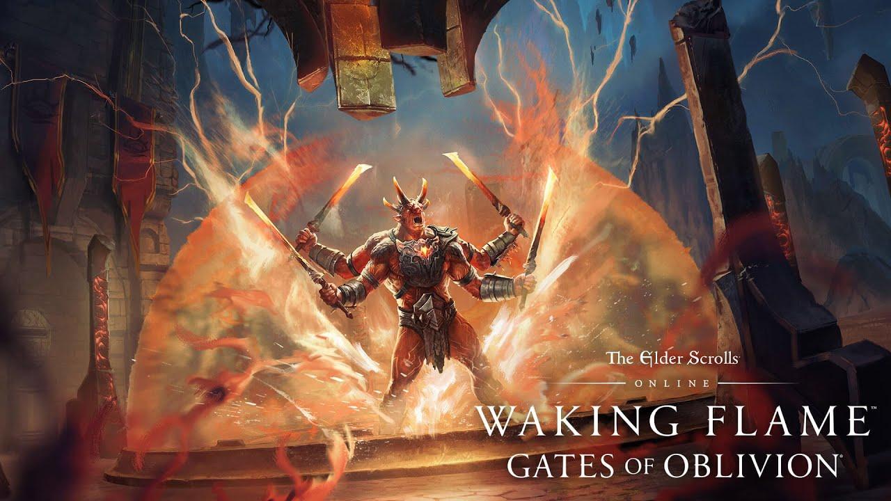 Геймплейный трейлер дополнения The Elder Scrolls Online: Waking Flame