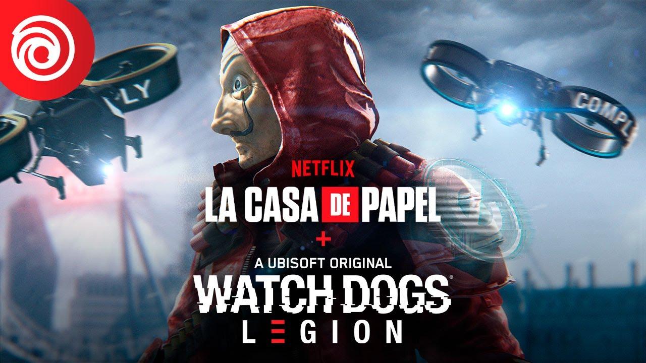 В Watch Dogs: Legion добавили миссию, посвященную сериалу «Бумажный дом»