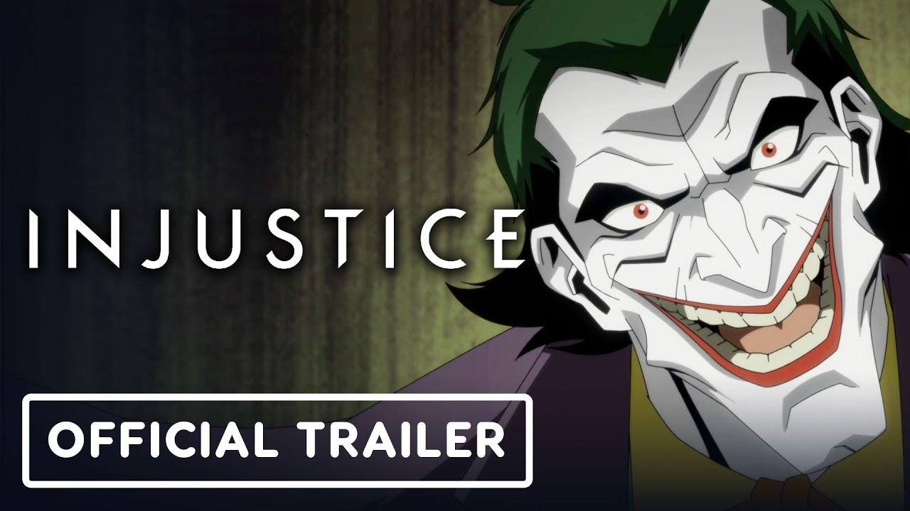 Первый трейлер мультфильма Injustice