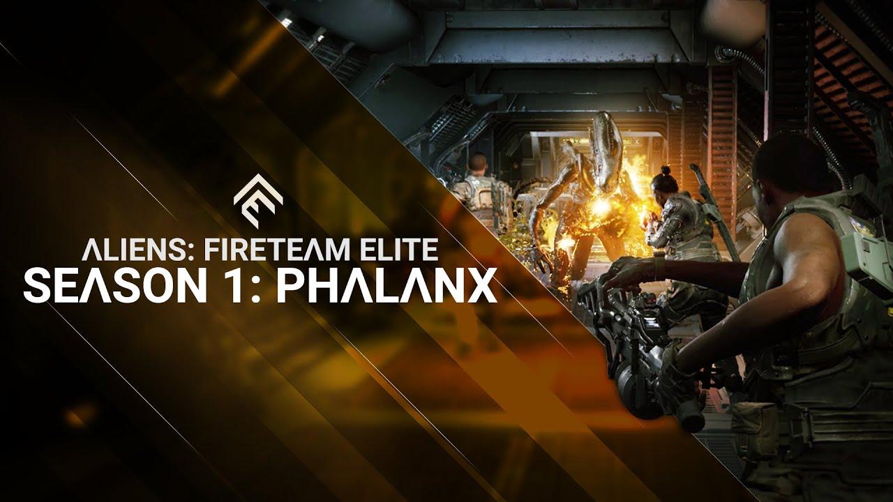 Стартовал первый сезон в Aliens: Fireteam Elite.