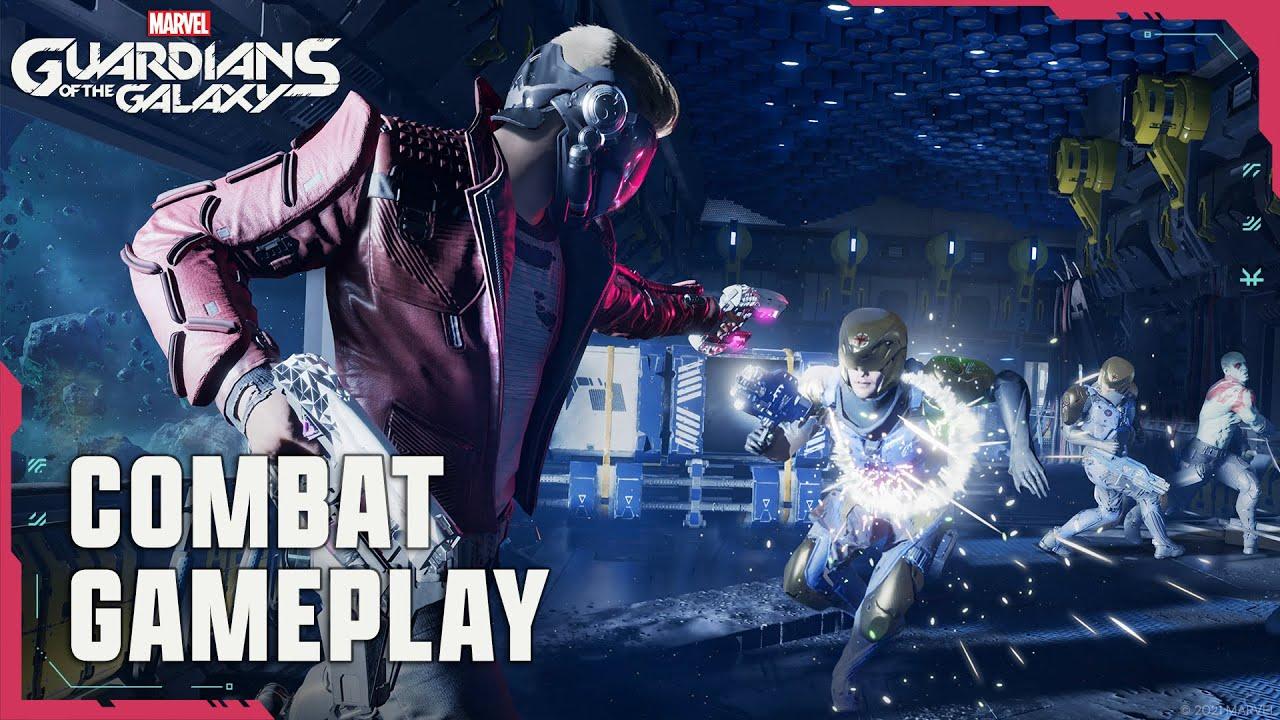 Новые трейлеры Marvel's Guardians of the Galaxy посвящены боевой системе и исследованию мира.