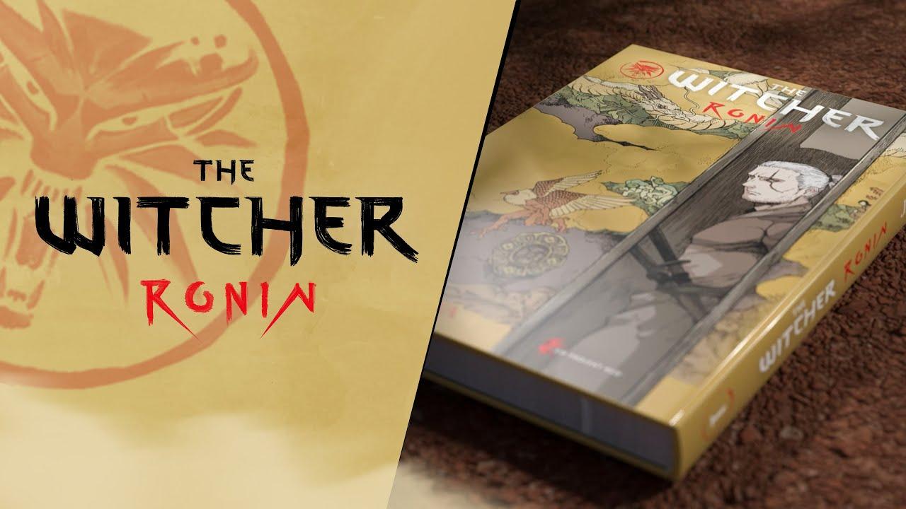 Помните, как CDPR анонсировала сбор средств на мангу The Witcher: Ronin?