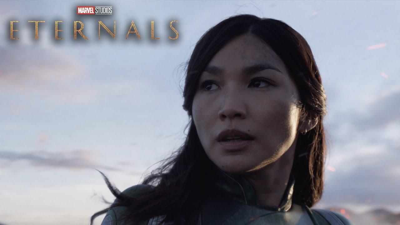Новый тв-спот и постеры следующего мультика Marvel «Вечные»