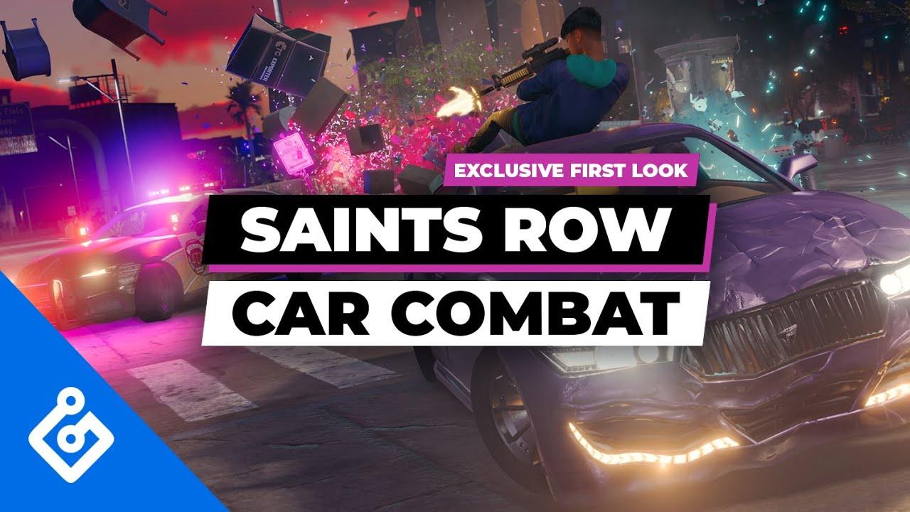 Новый геймплей Saints Row с демонстрацией боевой системы