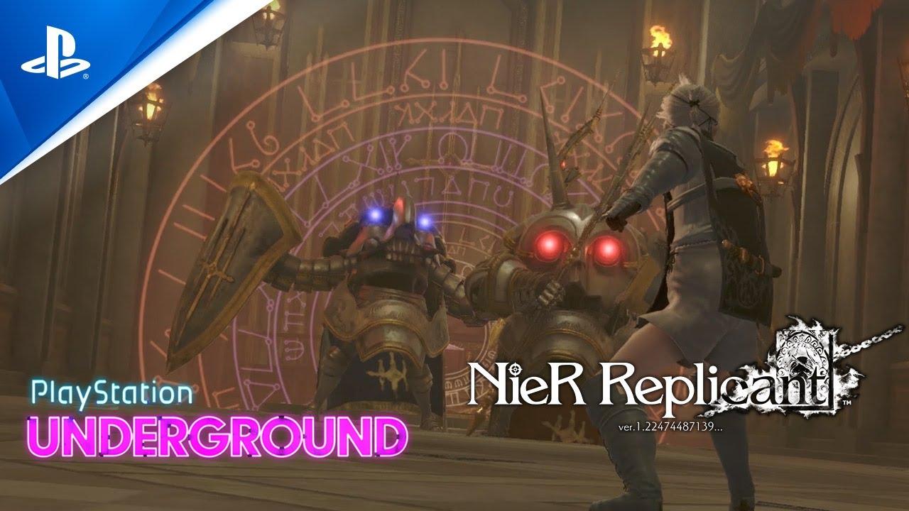 Новый геймплей переиздания NieR Replicant