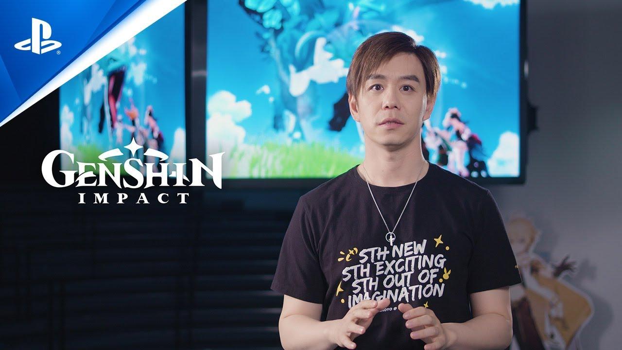 Новый геймплей Genshin Impact с PS5