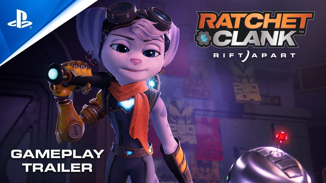 Новый геймплейный трейлер в оригинале и дубляже Ratchet & Clank: Rift Apart