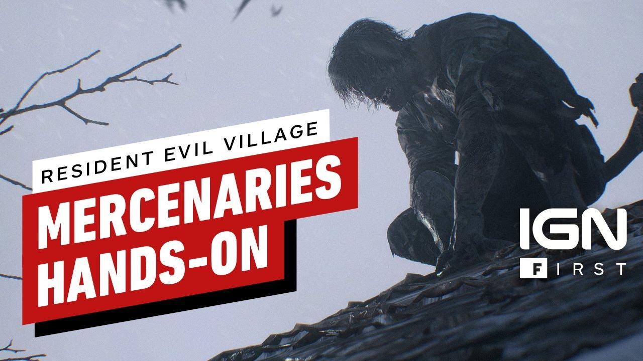 Новый геймплей режима «Наемников» в Resident Evil Village
