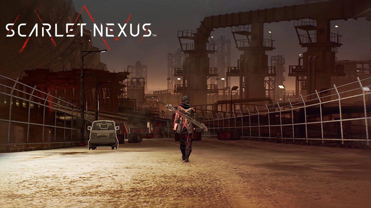 Новый короткий ролик Scarlet Nexus от Bandai Namco, посвященный локациям в игре