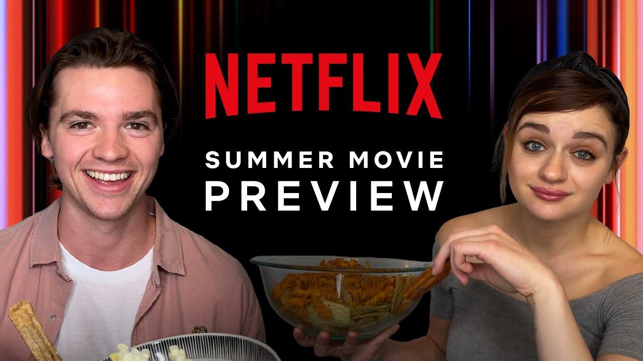 Netflix опубликовал ролик с предстоящими премьерами фильмов на это лето