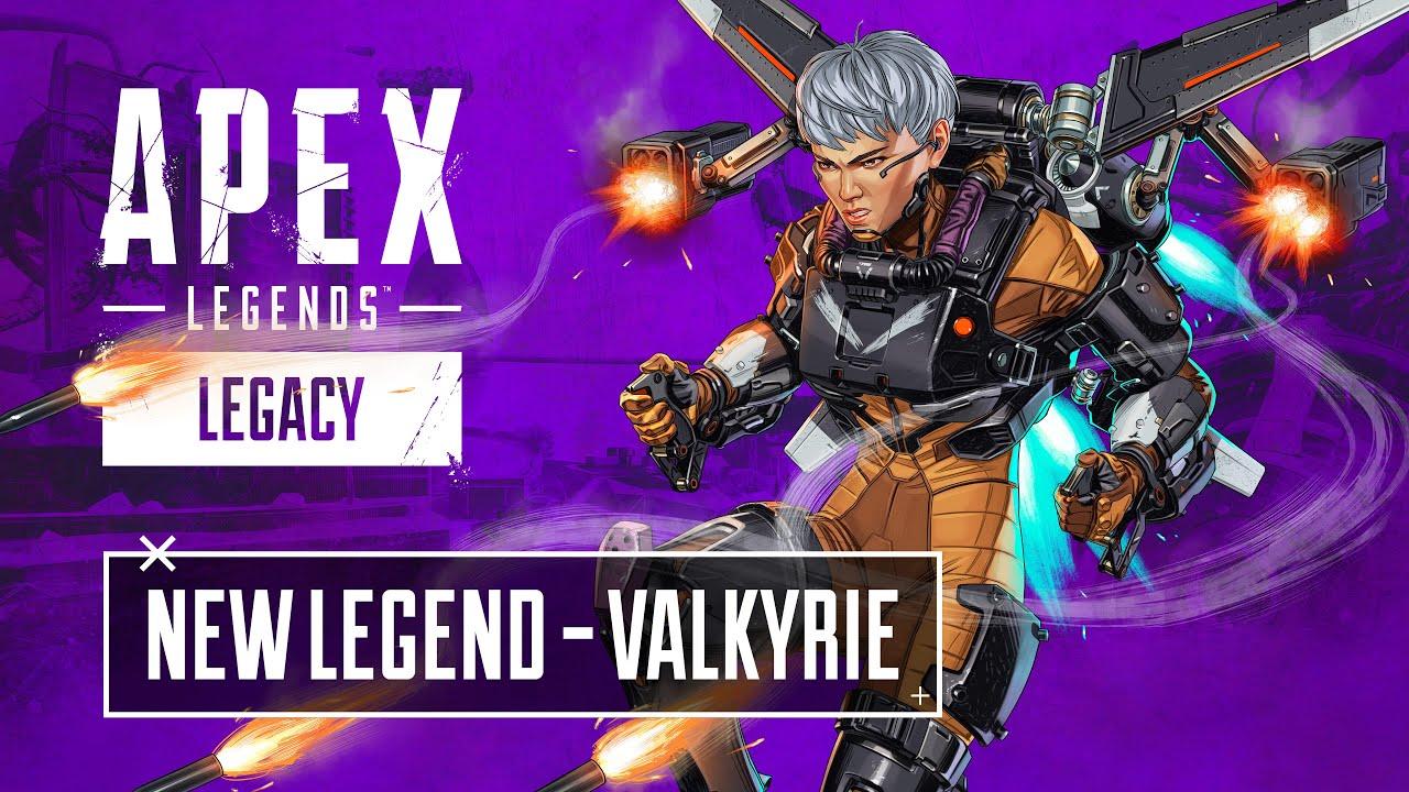 Геймплейный трейлер Apex Legends, посвященный Валькирии