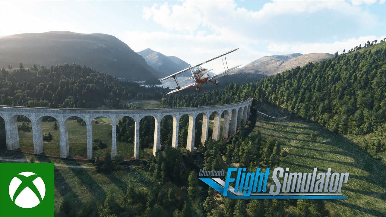 Microsoft Flight Simulator получила новое крупное обновление