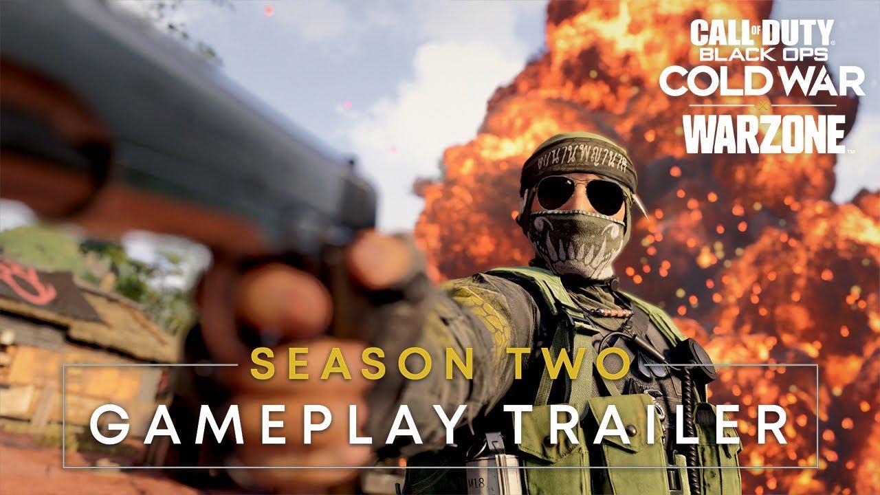 Новый эпичный геймплейный трейлер второго сезона Call of Duty: Black Ops Cold War и Warzone