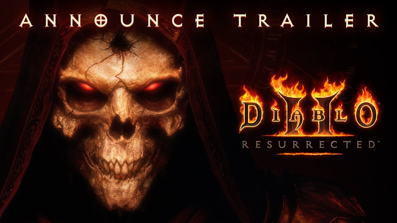 Анонсирующий трейлер ремейка Diablo 2
