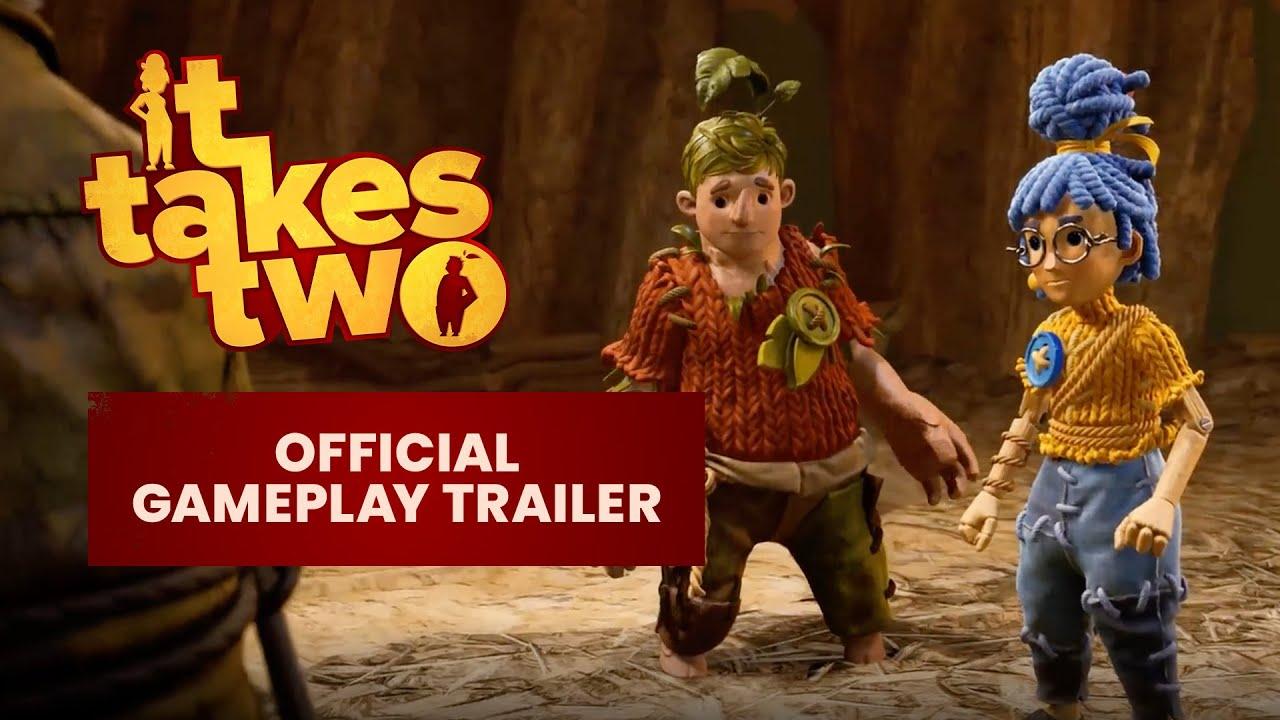 Свежий геймплейный трейлер кооперативной It Takes Two от создателей A Way Out.