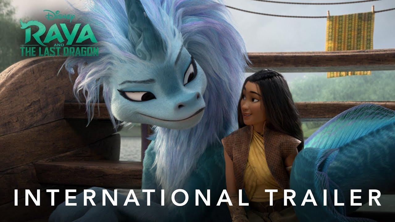 Новый трейлер мультфильма «Райя и последний дракон»