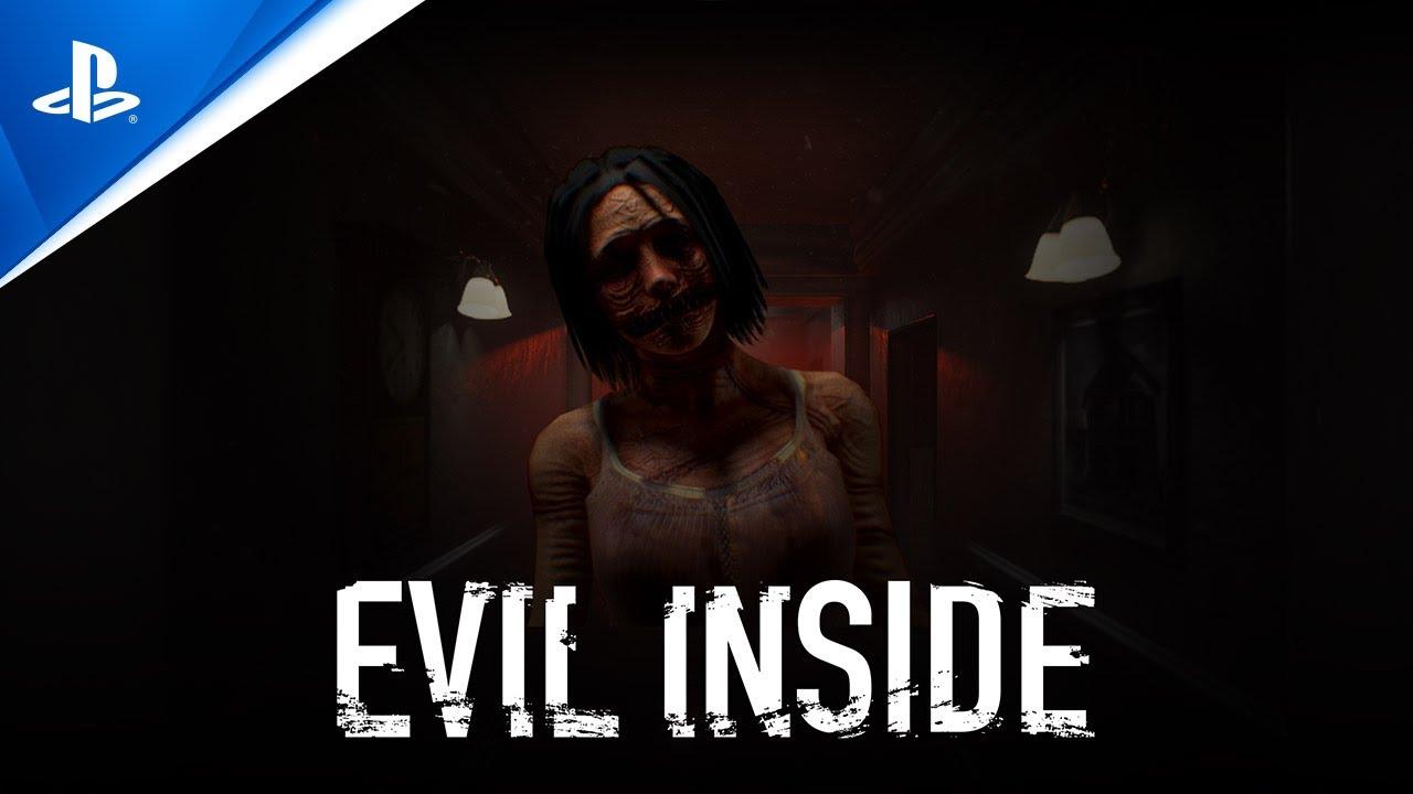 Канал PlayStation опубликовал анонсирующий трейлер Evil Inside