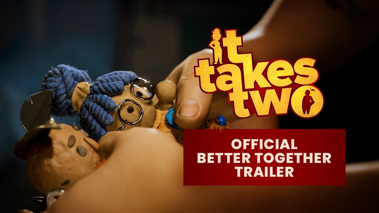 EA представила трейлер динамичной и веселой кооперативной игры It Takes Two от студии Hazelight Studios, известной по A Way Out