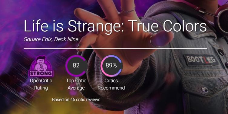 Первые оценки Life is Strange: True Colors выглядят убедительно – многие называют игру лучшей частью серии и с оптимизмом смотрят в будущее серии.