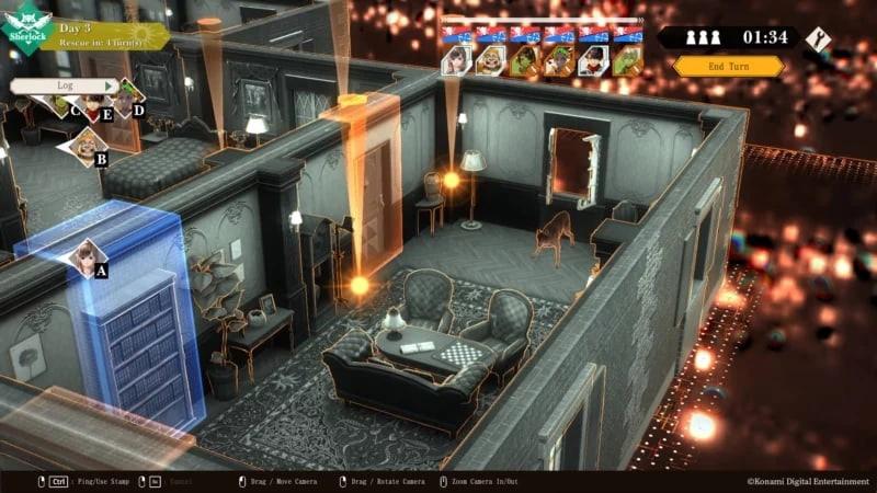 Konami анонсировала детектив Crimesight