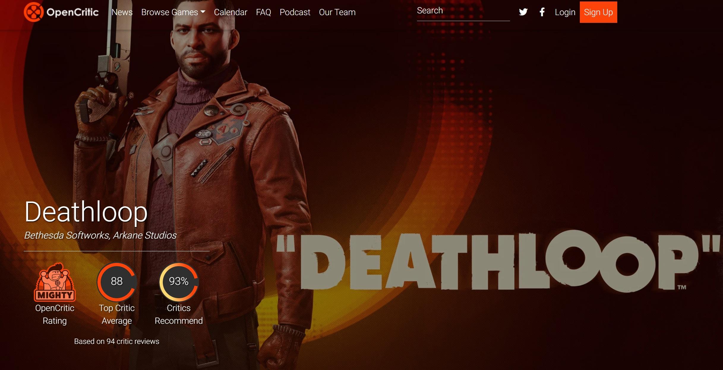 Почитали обзоры Deathloop, как положительные, так и «негативные» на 7 баллов — Dishonored, но красочная и веселая
