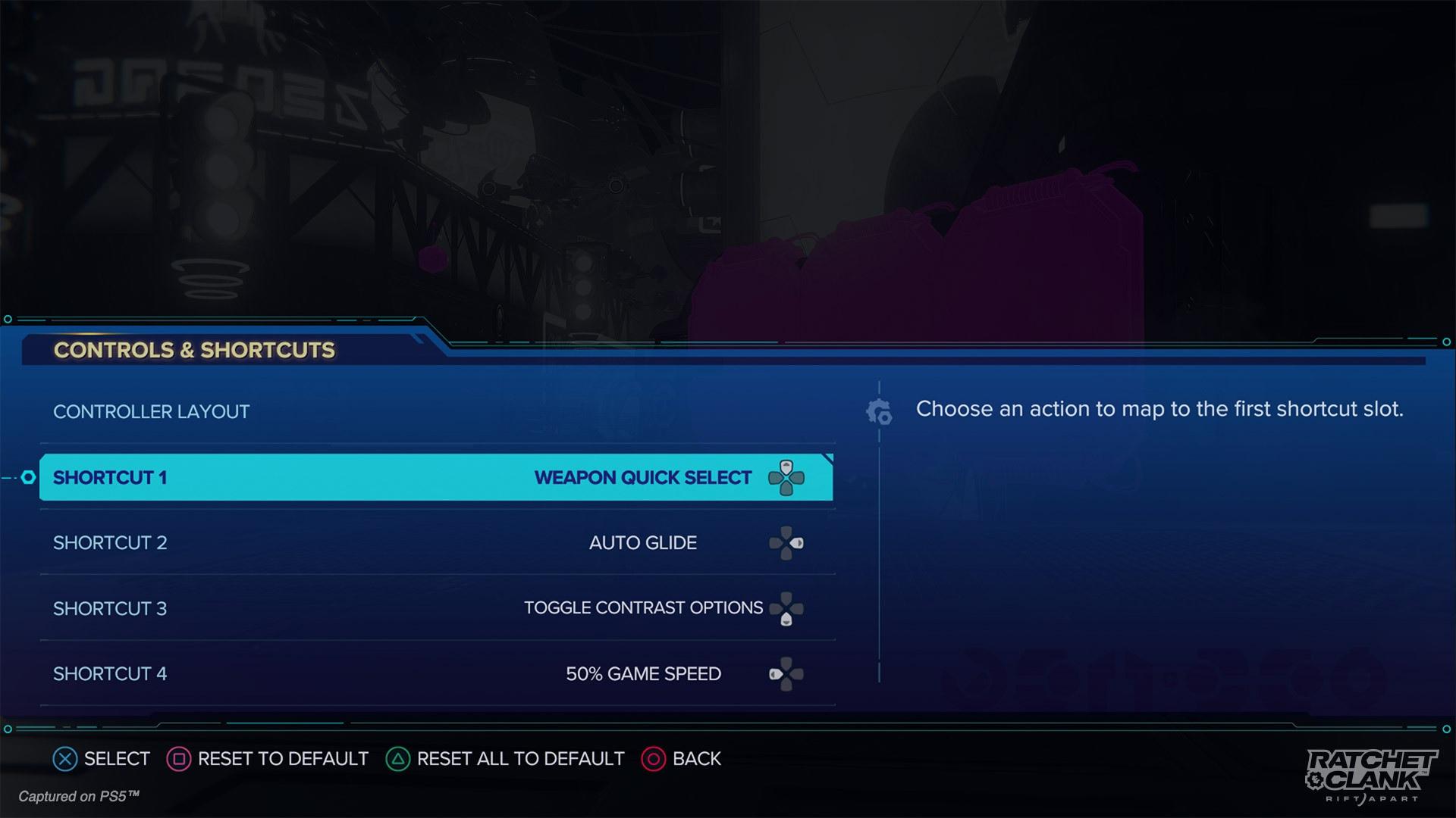 Insomniac Games постаралась на славу с количеством разнообразных настроек в Ratchet & Clank: Rift Apart