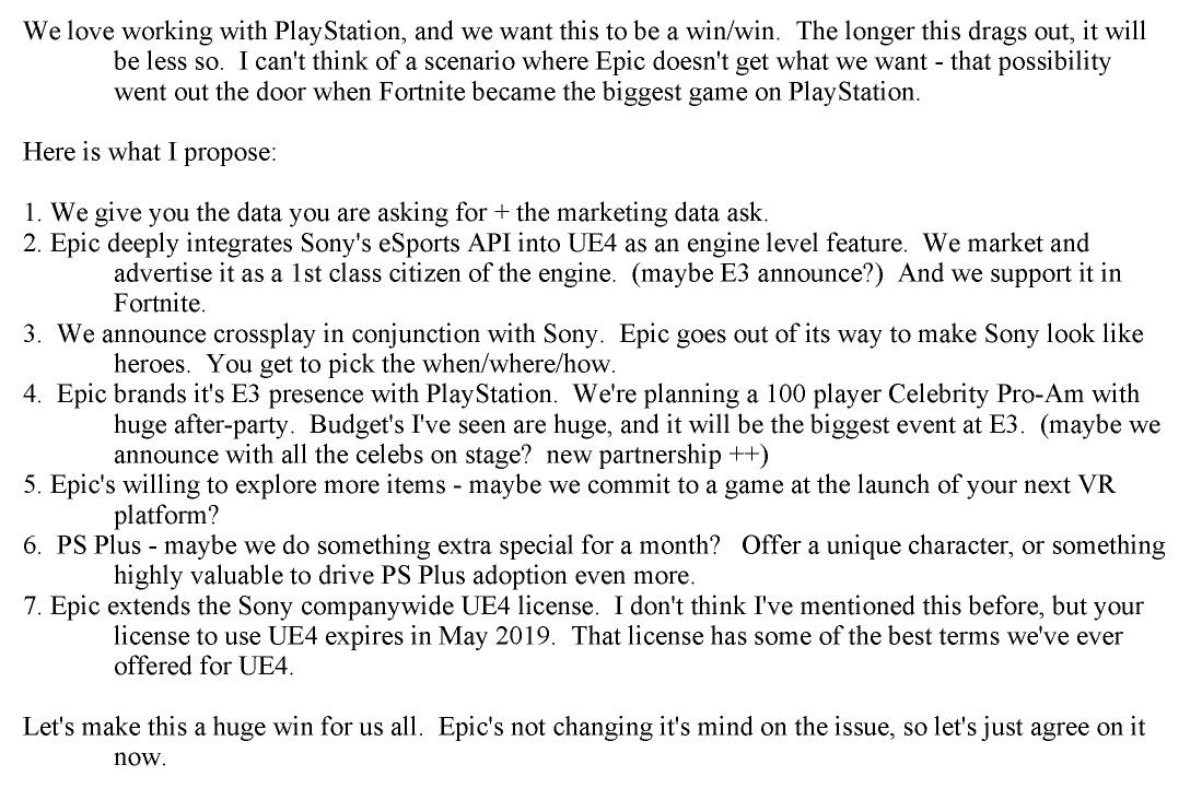 В сеть продолжают попадать документы компаний в связи с судом между Epic Games и Apple