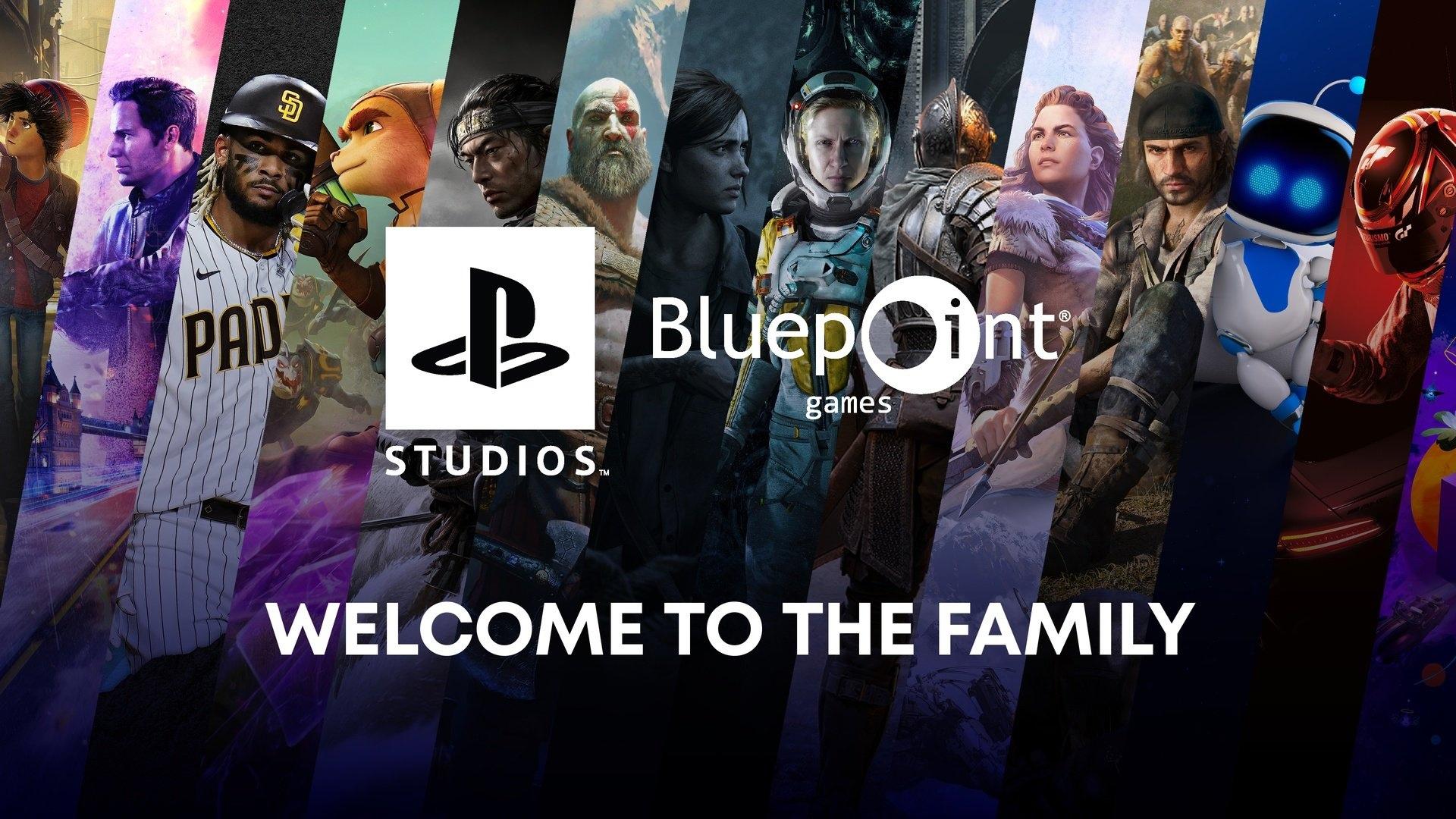 Японский твиттер PlayStation случайно прифотошопил картинку со студией Bluepoint Games в новости про покупку студии Housemarque (Reternal, Resogun, Alienation)